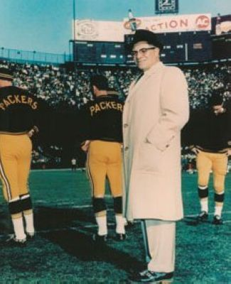 Vince Lombardi Green Bay Packers NFL 8x10 Photograph Sideline Coaching