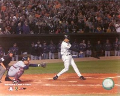 Cal Ripken Jr Baltimore Orioles MLB 8x10 Photograph Last Career at Bat