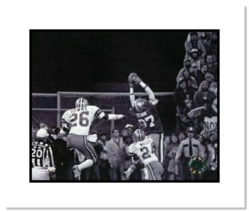 Dwight Clark San Francisco 49ers NFL Double Matted 8x10 Photograph Catch
