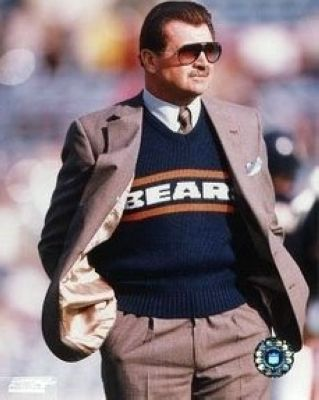 Mike Ditka Chicago Bears NFL 8x10 Photograph Sideline Coaching