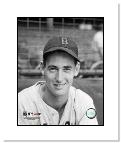 Ted Williams Boston Red Sox MLB Double Matted 8x10 Photograph Close Up