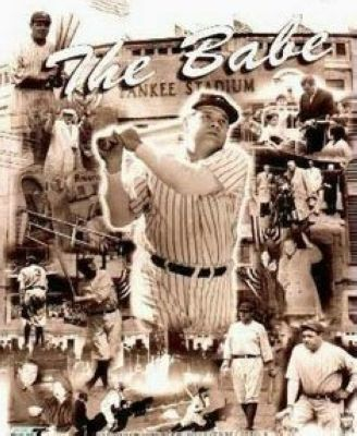 Babe Ruth New York Yankees MLB 8x10 Photograph Legends Collage