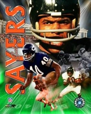 Gale Sayers Chicago Bears NFL 8x10 Photograph Legends Collage