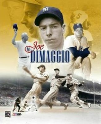 Joe DiMaggio New York Yankees MLB 8x10 Photograph Collage
