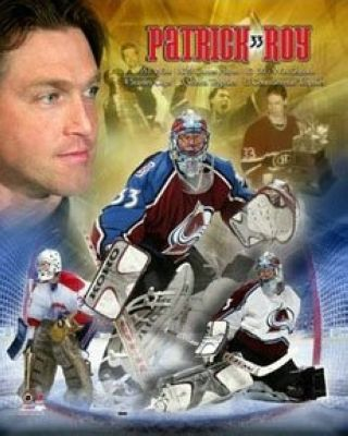 Patrick Roy Montreal Canadiens NHL 8x10 Photograph Legends Collage