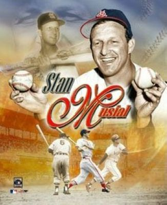 Stan Musial St Louis Cardinals MLB 8x10 Photograph Legends Collage