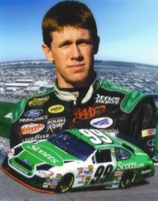 Carl Edwards NASCAR Auto Racing 8x10 Photograph Collage