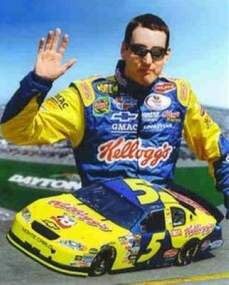 Kyle Busch NASCAR Auto Racing 8x10 Photograph Collage