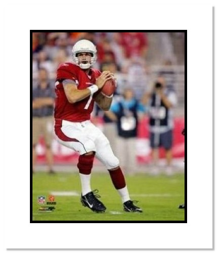Matt Leinart Arizona Cardinals NFL Double Matted 8x10 Photograph Passing