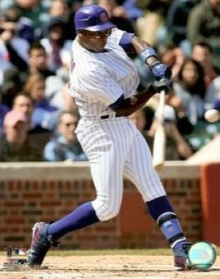 Alfonso Soriano Chicago Cubs MLB 8x10 Photograph Batting