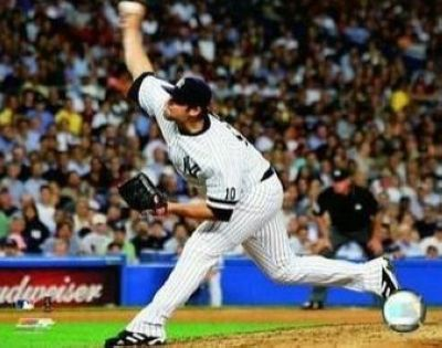 Joba Chamberlain New York Yankees MLB 8x10 Photograph Pitching