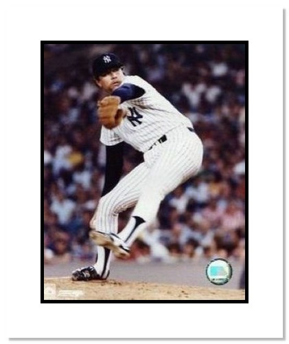 Goose Gossage New York Yankees MLB Double Matted 8x10 Photograph Pitching