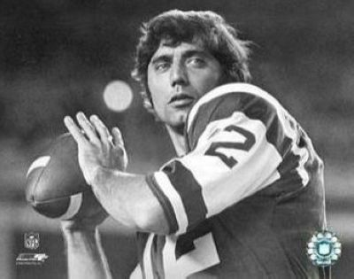 Joe Namath New York Jets NFL 8x10 Photograph Up Close Black and White