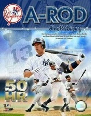 Alex Rodriguez New York Yankees MLB 8x10 Photograph 50th HR Collage