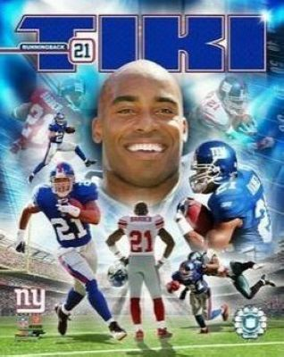 Tiki Barber New York Giants NFL 8x10 Photograph Collage