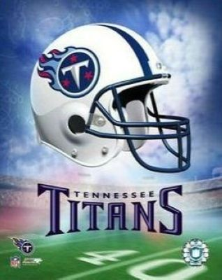 Tennessee Titans NFL 8x10 Photograph Team Logo and Football Helmet Collage