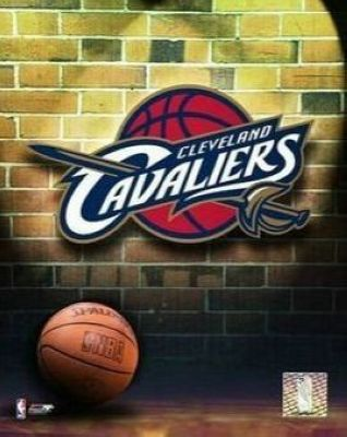Cleveland Cavaliers NBA 8x10 Photograph Team Logo and Basketball