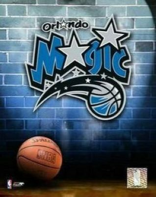 Orlando Magic NBA 8x10 Photograph Team Logo and Basketball