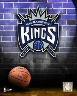 Sacramento Kings NBA 8x10 Photograph Team Logo and Basketball