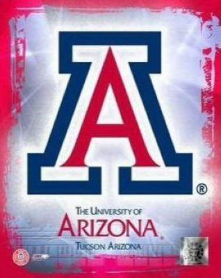 Arizona Wildcats NCAA 8x10 Photograph University of Arizona Team Logo