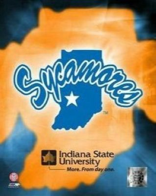 Indiana State Sycamores NCAA 8x10 Photograph Indiana State University Team Logo