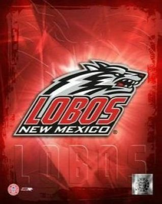 New Mexico Lobos NCAA 8x10 Photograph University of New Mexico Team Logo