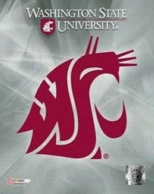 Washington State Cougars NCAA 8x10 Photograph University of Washington State Team Logo