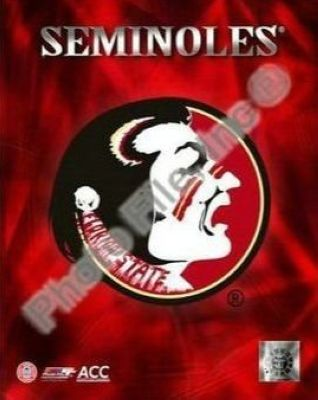 Florida State Seminoles NCAA 8x10 Photograph Team Logo
