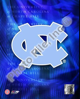 North Carolina Tar Heels NCAA 8x10 Photograph Team Logo