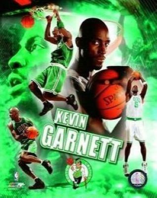 Kevin Garrett Boston Celtics NBA 8x10 Photograph Collage