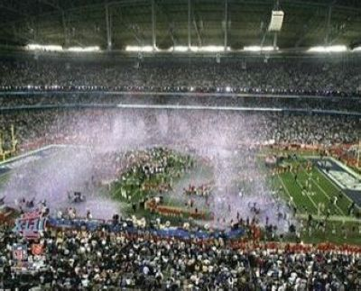 2008 New York Giants NFL 8x10 Photograph Super Bowl XLII Arizona Stadium
