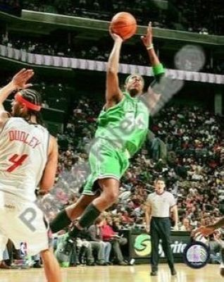Paul Pierce Boston Celtics NBA 8x10 Photograph 2009 Action Shooting