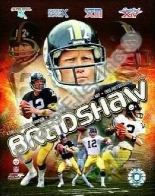 Terry Bradshaw Pittsburgh Steelers NFL 8x10 Photograph Collage