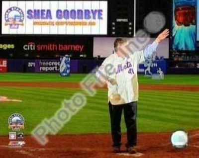 Tom Seaver New York Mets MLB 8x10 Photograph Shea Stadium Farewell Night