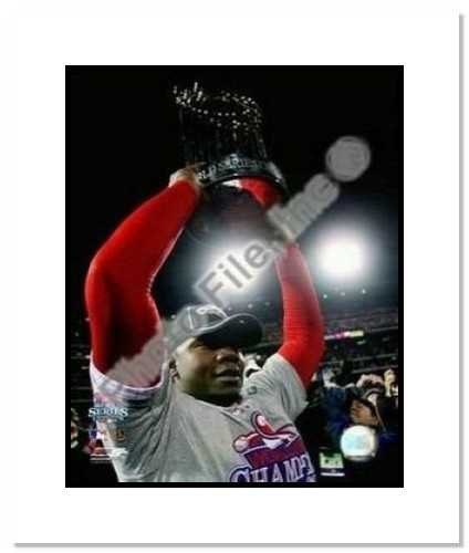 Ryan Howard Philadelphia Phillies MLB Double Matted 8x10 Photograph 2008 World Series Trophy