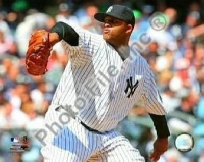 CC Sabathia New York Yankees MLB 8x10 Photograph 2009 Pitching