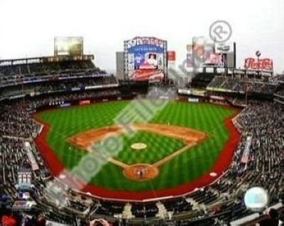 2009 New York Mets Citi Field Opening Day MLB 8x10 Photograph Inside Stadium