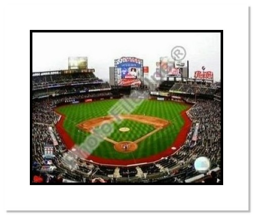 2009 New York Mets Citi Field Opening Day MLB Double Matted 8x10 Photograph Inside Stadium