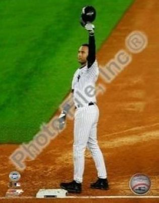 Derek Jeter New York Yankees MLB 8x10 Photograph Career Hit 2,722 Cap Tip