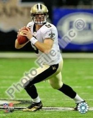 Drew Brees New Orleans Saints NFL 8x10 Photographs Passing 2009