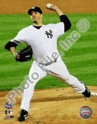 Andy Pettitte New York Yankees MLB 8x10 Photograph 2009 ALCS Game 6 Pitching