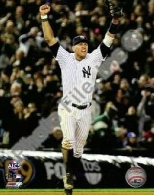 Alex Rodriguez New York Yankees MLB 8x10 Photograph 2009 ALCS Game 6 Celebration