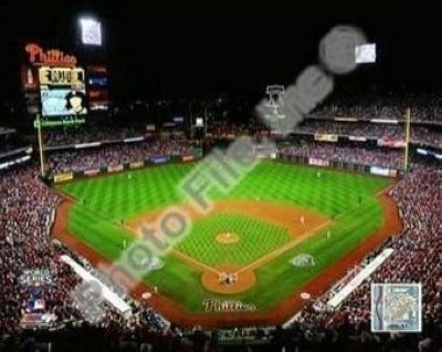 Philadelphia Phillies MLB 8x10 Photograph 2009 World Series Game 3 Citizens Bank Ballpark