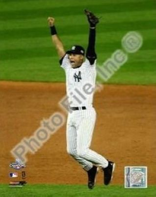 Derek Jeter New York Yankees MLB 8x10 Photograph 2009 World Series Game 6 Celebration