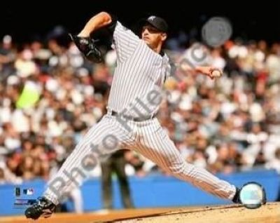 Andy Pettitte New York Yankees MLB 8x10 Photograph Pitching Side View