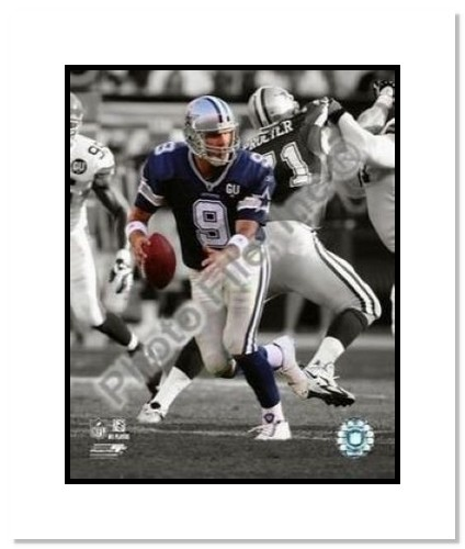 Tony Romo Dallas Cowboys NFL Double Matted 8x10 Photograph Spotlight