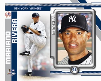Mariano Rivera New York Yankees MLB 8x10 Photograph 2010 Player Collage