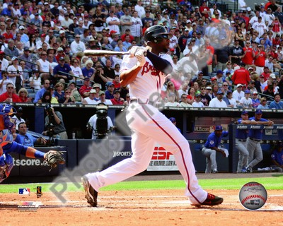 Jason Heyward Atlanta Braves MLB 8x10 Photograph 2010 Batting
