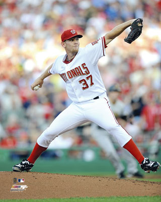 Stephen Strasburg Washington Nationals MLB 8x10 Photograph MLB Debut 2010 Pitching