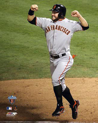 Cody Ross San Francisco Giants 8x10 Photograph 2010 World Series Game 5 Home Run